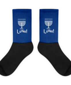 Hanukkah Lumos Socks